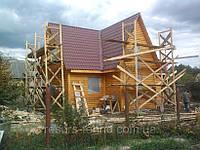 Дом из блокхауса 2х этажный 108 м/кв, фото 1