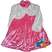 """Детское нарядное платье с болеро """"Sekerim""""  , велюр , для девочки от 4-5-6 лет"""