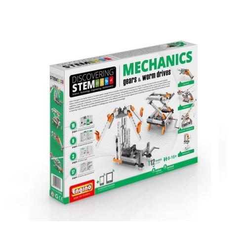 Конструктор «Engino» (STEM05) Stem Механика: шестерни и червячная передача, 152 элемента