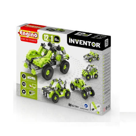 Конструктор «Engino» (1231) Inventor Автомобили, 12 в 1, фото 2