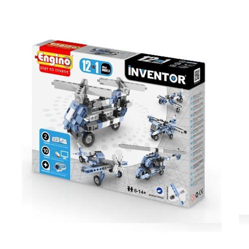 Конструктор «Engino» (1233) Inventor Самолеты, 12 в 1