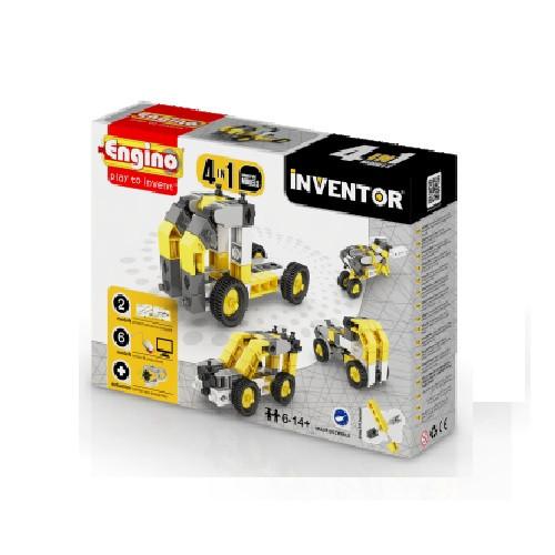Конструктор «Engino» (0434) Inventor Строительная техника, 4 в 1