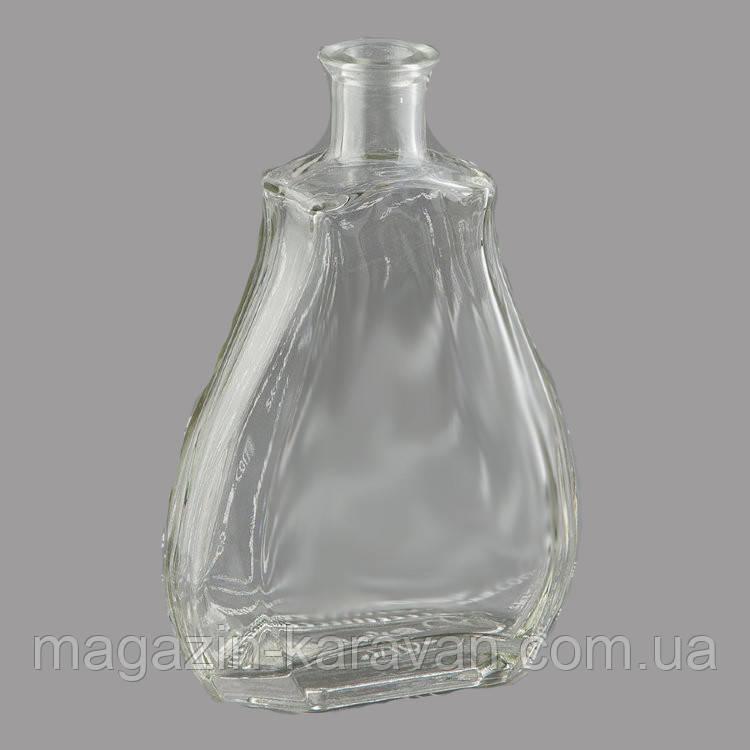 """Фигурная бутылка стеклянная """"Кастилия"""" 0,5 л"""