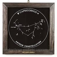 Подарок Козерогу — панно с изображение созвездия Козерог