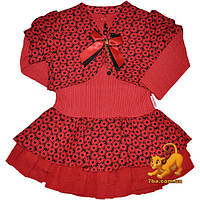 """Нарядное платье для утренника """"Цветочек"""" , оборки , фурнитура , для девочки от 2-3-4 лет"""