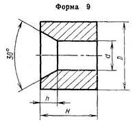 Вставки-заготовки из спеченных твердых сплавов для высадочного инструмента 1010-1724 ВК10-КС ГОСТ 10284-84