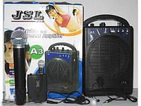 Портативная звуковая система Jsl А3, портативный беспроводной усилитель звука, звуковая радиосистема   f