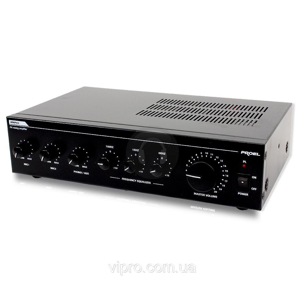 Микшер-усилитель Proel PA AMP 03