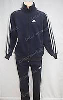Cпортивный костюм ADIDAS темно синий, теплый