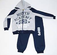 Утепленный детский спортивный костюм для мальчика