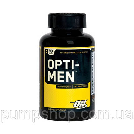 Витамины Optimum Nutrition Opti-Men 90 таб., фото 2