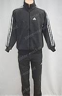 Cпортивный костюм ADIDAS серый, теплый