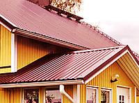Металопрофиль для крыши. Профнастил ПК