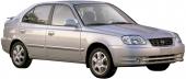 Защита двигателя на Hyundai Accent (2000-2005)