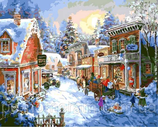 Интересные подарки на Новый год, картины по номерам ...