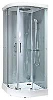 Гидробокс Grandehome, 100 x 100 см, профиль хром, стекло прозрачное