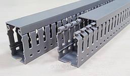 Перфорированный лоток короб кабель канал пластиковый 25 х 40 цена купить