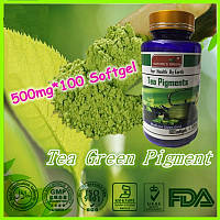 Капсулы гелевые Экстракт зеленого чая (Tea Pigments)100 капсул