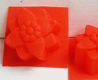 Форма для мыла Цветочек №2 4 см , 1 шт