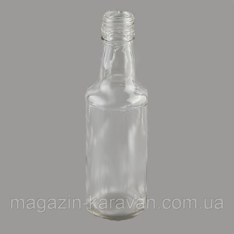 """Стеклянная бутылка водочная 0,25 л """"Монопол"""""""