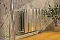 Радиатор биметаллический Royal Thermo Piano Forte 500 Silver Satin (8 секций), фото 3