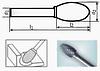 Борфреза овальная 55х6мм (7х3мм), тип Е