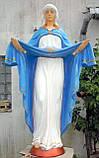 Ритуальная скульптура в Украине. Большая статуя Покрова №6 высота 220 см из бетона, фото 2