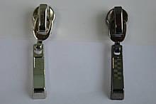Бегунок декоративный на молнию витую(спираль) Т5 с фиксатором