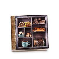 """Шкатулка-книга на магните с 9 отделениями """"Банка кофе"""""""
