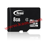 Карта памяти Team Class 4 8GB microSDHC no adapter (TUSDH8GCL402)