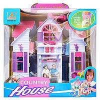 Кукольный домик с мебелью, фото 1