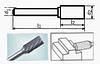 Борфреза цилиндрическая 55х6мм (10х2мм), тип B (тип насечки ― 3)