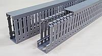 Короб перфорированный пластиковый лоток кабель канал с крышкой 25 х 60 цена купить
