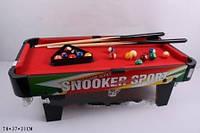Дeтcкий дepeвянный бильяpд Snooker Sport ZC2001+1
