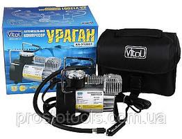 Поршневой компрессор автомобильный с автостопом Vitol Ураган КА-У12051