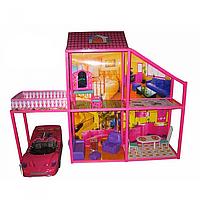 Домик для кукол 6981. 4 комнаты.
