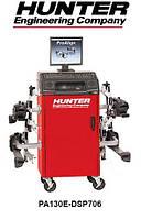 Стенд для регулировки развала-схождения, технология CCD, беспроводные инфракрасные датчики, ПО ProAl Hunter