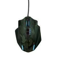 Миша TRUST GXT 155C Gaming Mouse - green camouflage модель 20853