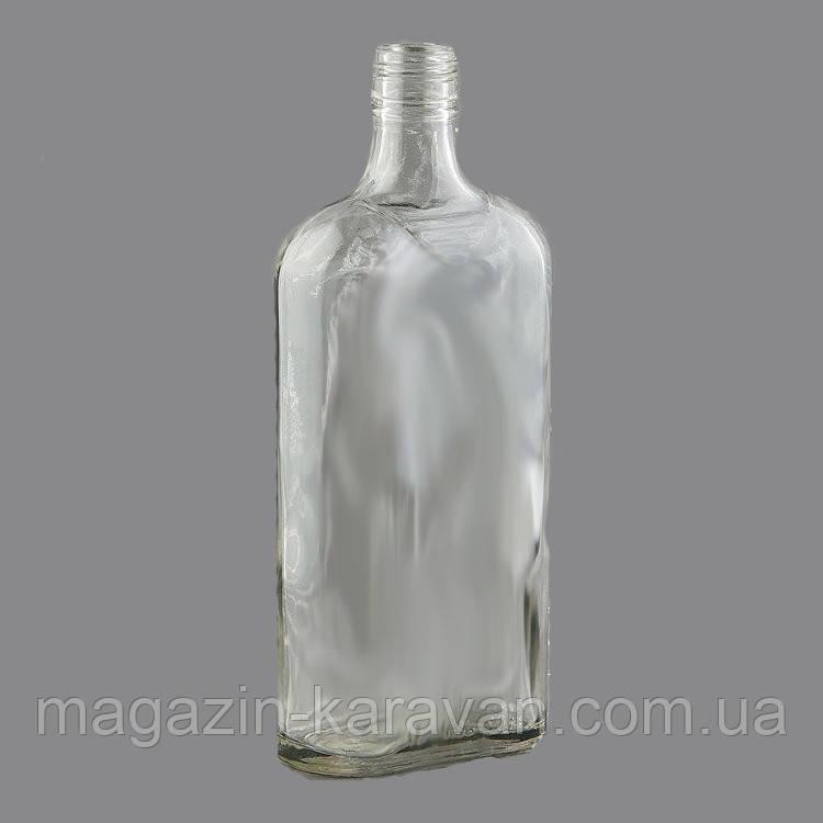 Комплект бутылка стеклянная с колпачком 28*18  500 мл .