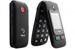 Мобильный телефон-раскладушка Sigma Comfort 50 Shell DUO