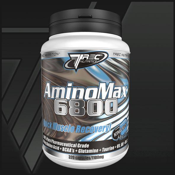 Пептиды Amino Max 6800 - 160 капсул