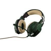 Гарнітура TRUST GXT 322C Gaming Headset - green camouflage модель 20865