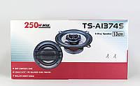 Автомобильные аудио колонки TS 1374 UKC коаксиальные двухполосные, 13 см, 4 Ом, диапазон 60-22000 Гц