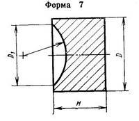 Вставки-заготовки из спеченных твердых сплавов для высадочного инструмента 1010-0495 ВК15 ГОСТ 10284-84