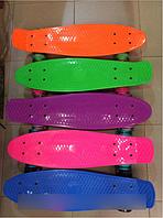 Скейт Пенни борд Penny board 23+подсветка колес АВ