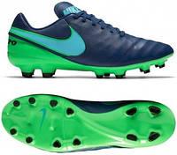 Футбольные бутсы Nike Tiempo Genio II FG 819213-443