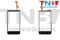 Сенсор HTC Desire 501 (603e) Черный HIGH COPY