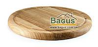 Деревянная подставка 24см (дуб) под порционные сковороды
