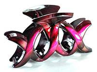 Краб для волос длина 7см, розовый К995-2