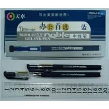 Ручка гелевая Techjob Noble синяя